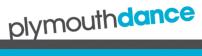 Plymouth dance logo